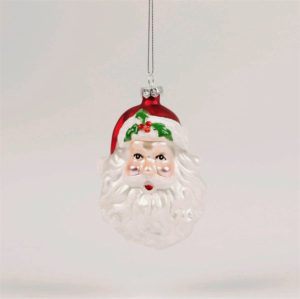 The Holly And Santa Bauble