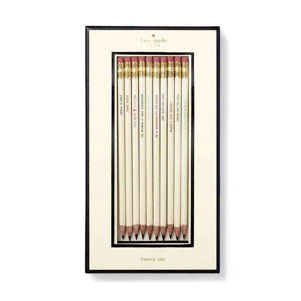 Kate Spade Pencil Set, What