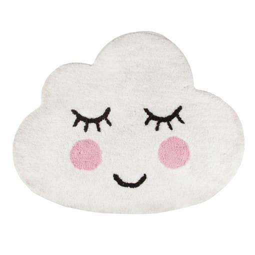 Smiling Cloud Rug Moss Cottage