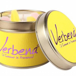 Verbena Tin Candle