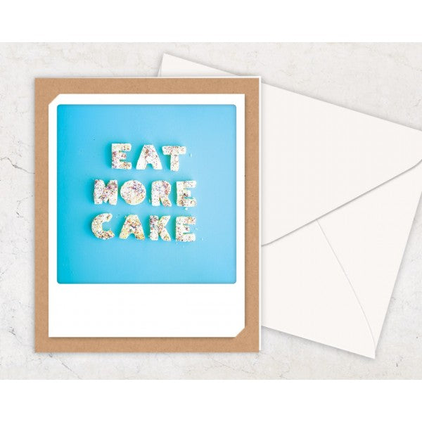 Eat More Cake Card - Pickmotion