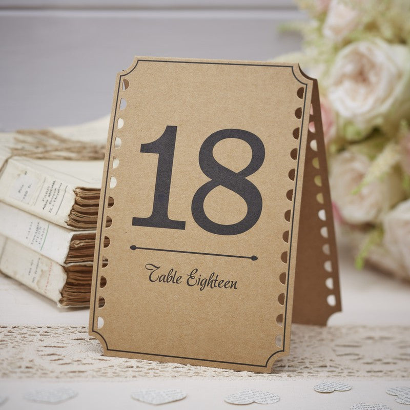 Table Numbers 13-24