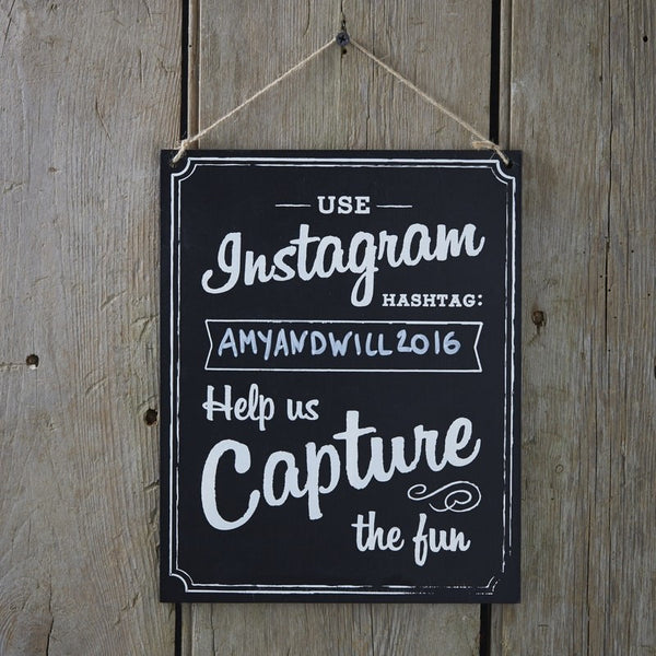 Instagram Hanging Sign