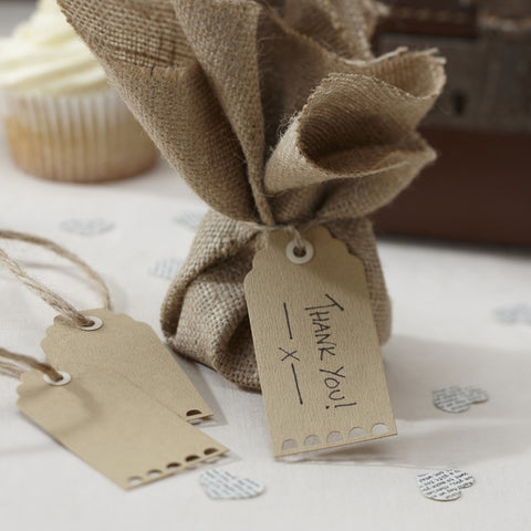 Brown Luggage Tags