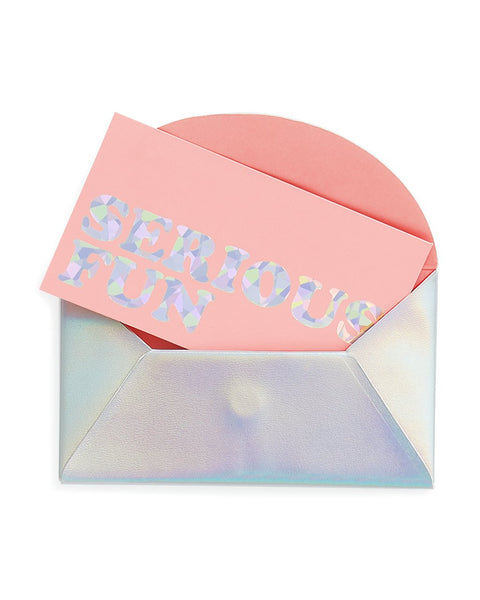 All Business Holographic Card Holder