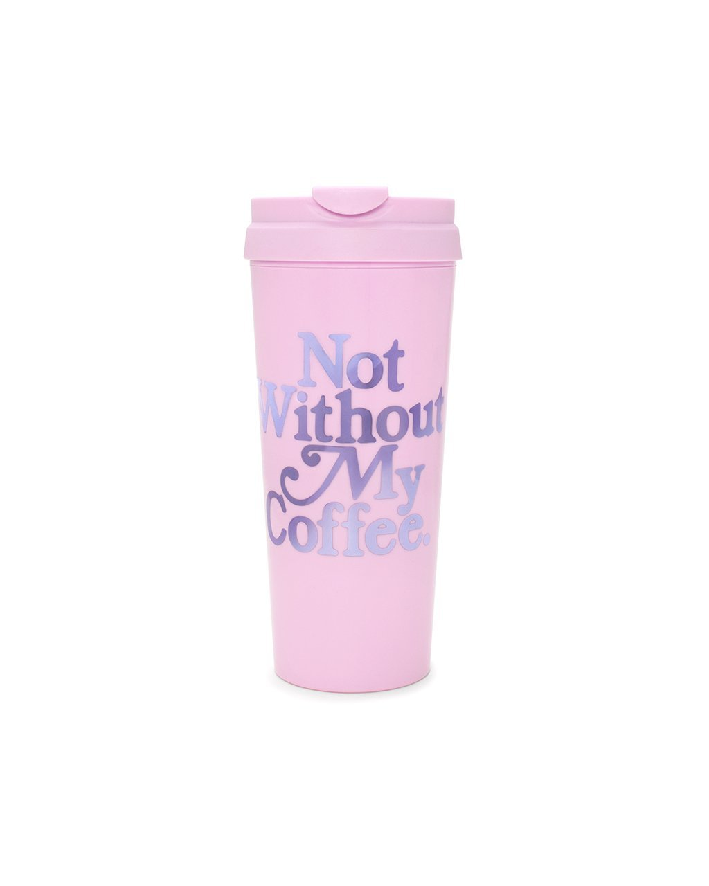 Not Without My Coffee Thermal Mug