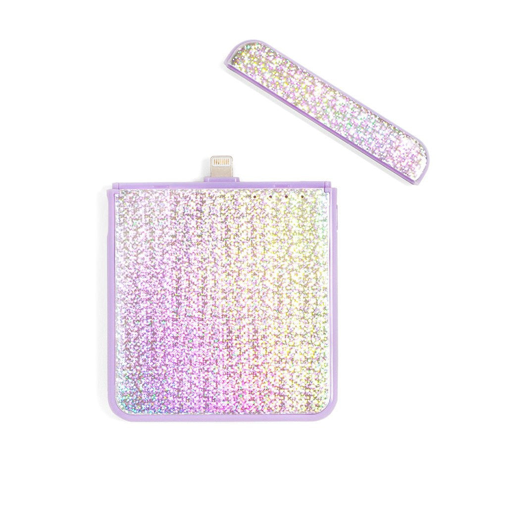 Disco Lilac Portable Charger