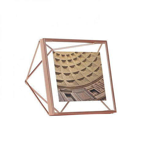 Copper Photoframe 4x4 Prisma