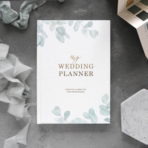 Luxury Wedding Planner, Eucalyptus. PRE-ORDER