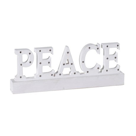 Peace Light Up Sign