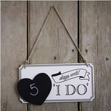 Countdown to Wedding Sign