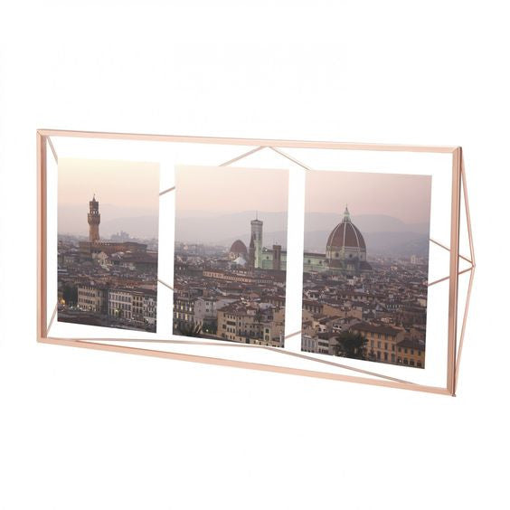 Copper Photoframe Multi Prisma