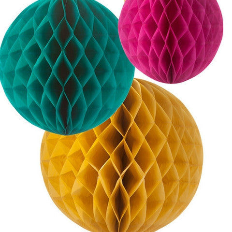 Fiesta Honeycomb Decorations