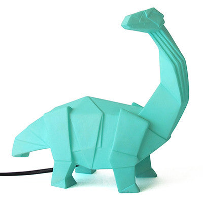 Green Dinosaur Lamp