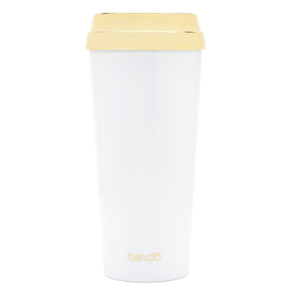 Bando But First Cofee Limited Edition Gold Mug