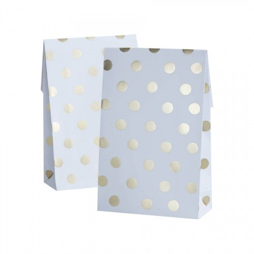 Gold Foiled Polka Dot Party Bags