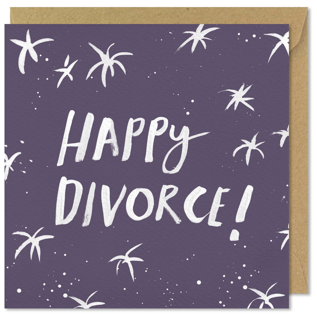 Happy Divorce Card#