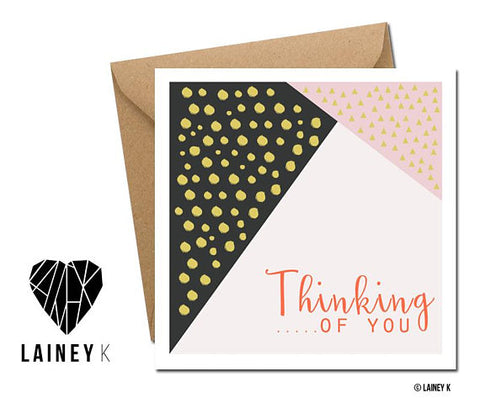 Thinking Of You Greeting Card (Lainey K)