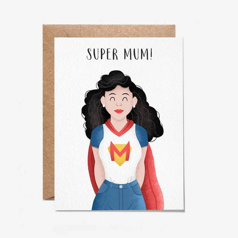 SuperMum Card