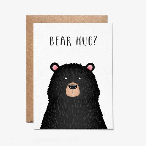 Bear Hug? Greeting Card