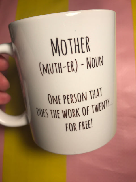 Mother Noun Mug