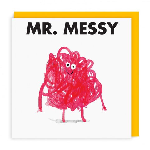 Mr.Messy Card