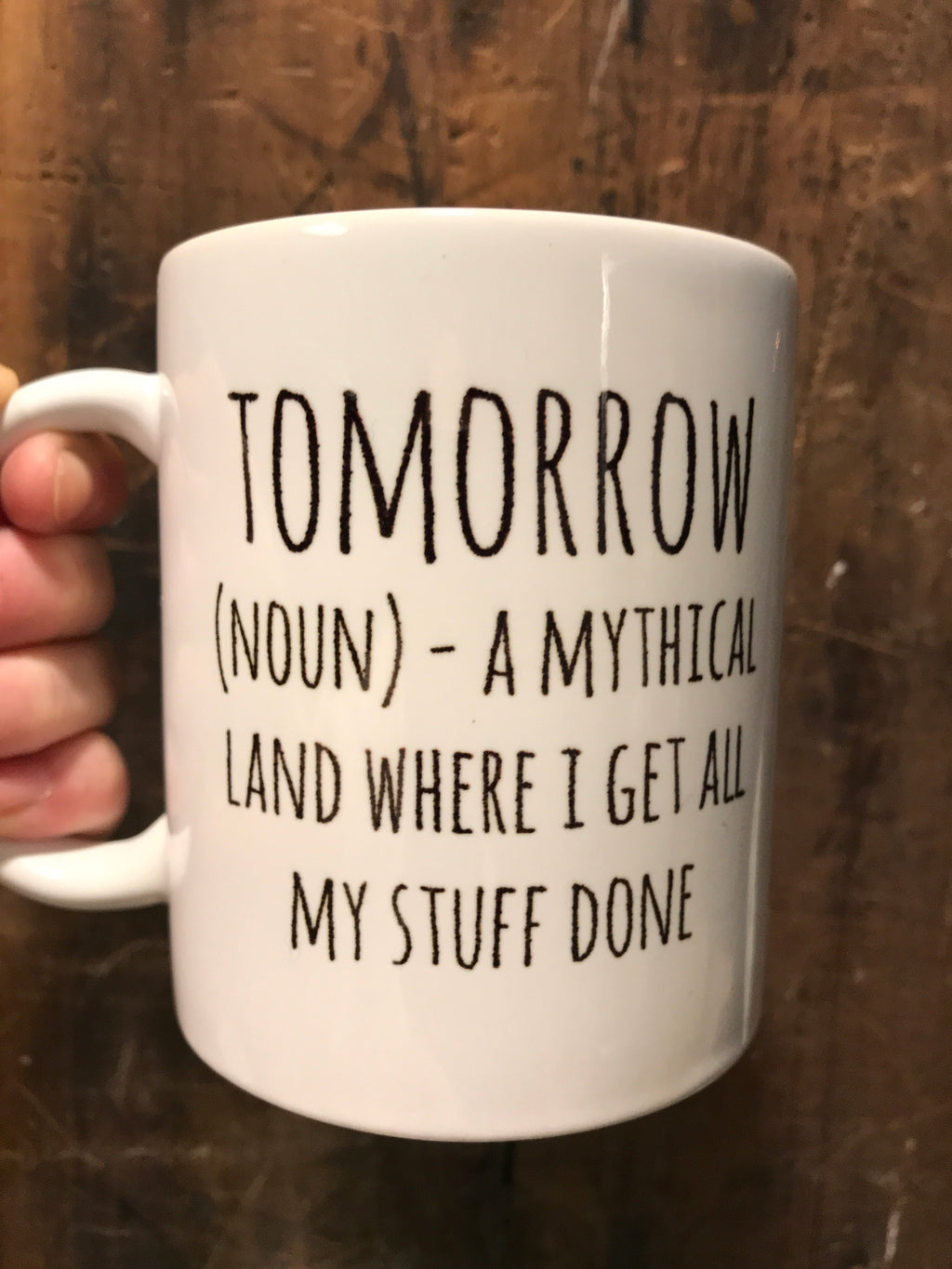 Tomorrow Mug