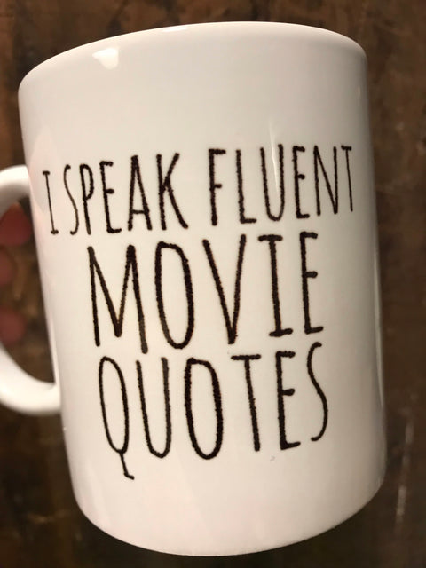 Movie Quotes Mug