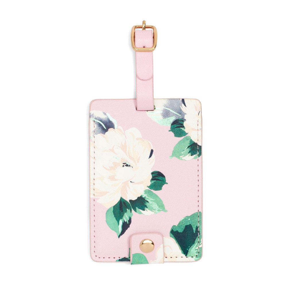 Lady of Leisure Luggage Tag