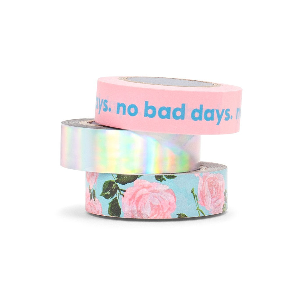 Stick With It Paper Tape, No Bad Days 1
