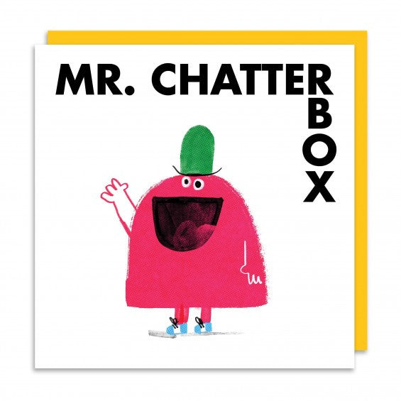 Mr.Chatterbox