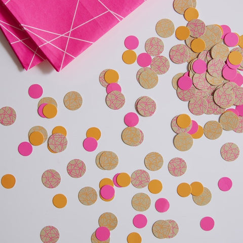 Neon Table Confetti