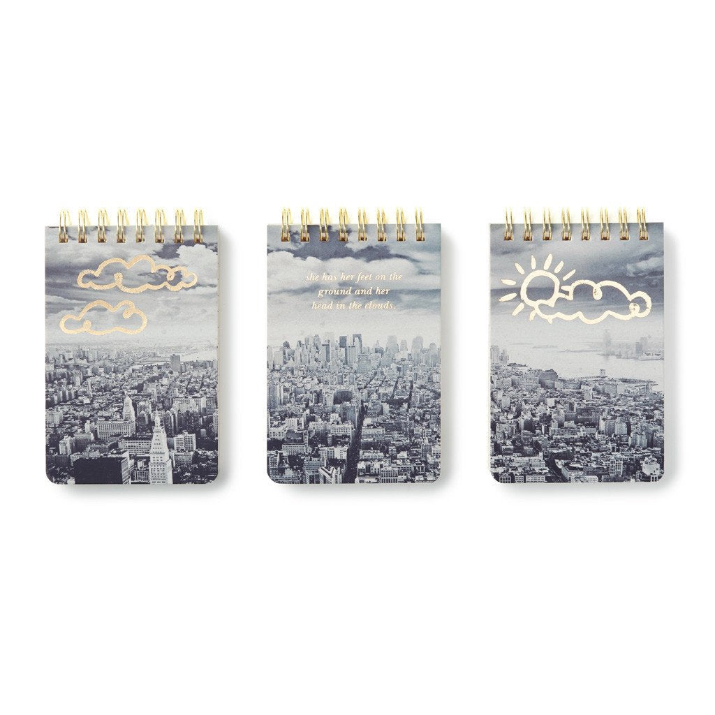 Kate Spade Set Of 3 - NYC Notepads