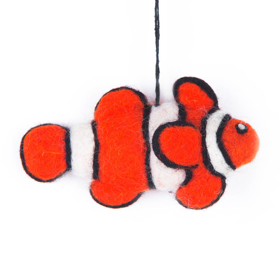 Felt Clown Fish