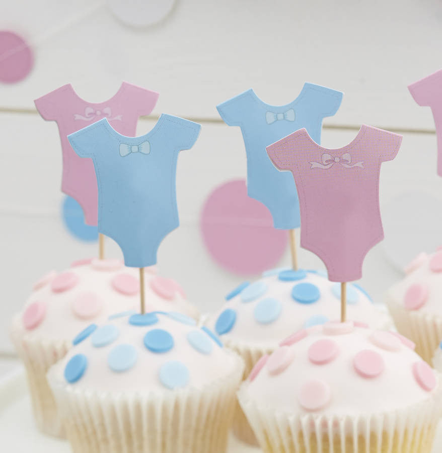 Baby Grow Cupcake Toppers