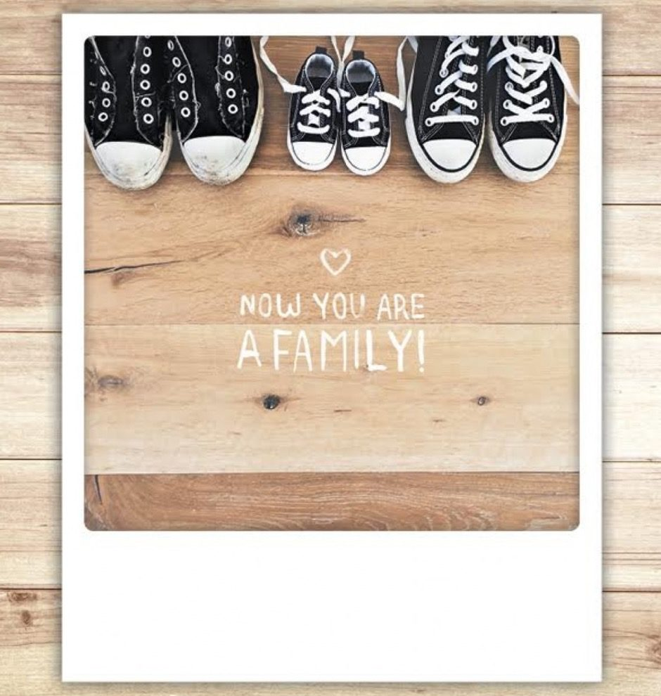 Now You Are A Family!! Card