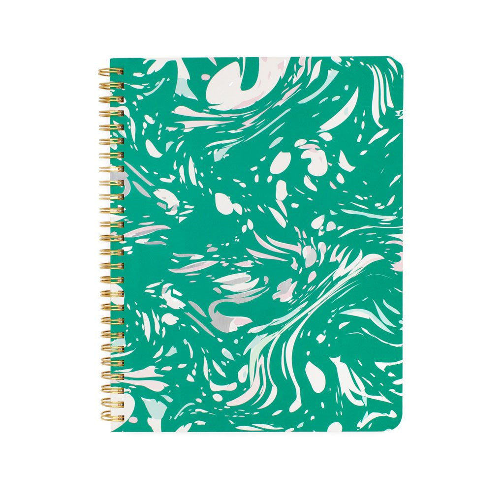 Jade Marble Notebook