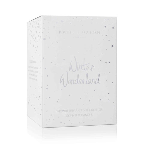Winter Wonderland Candle - Snowberry And Soft Cotton