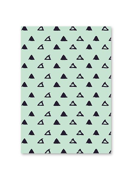 Mint Pattern Postcard#