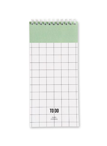 Grid To-Do List Pad