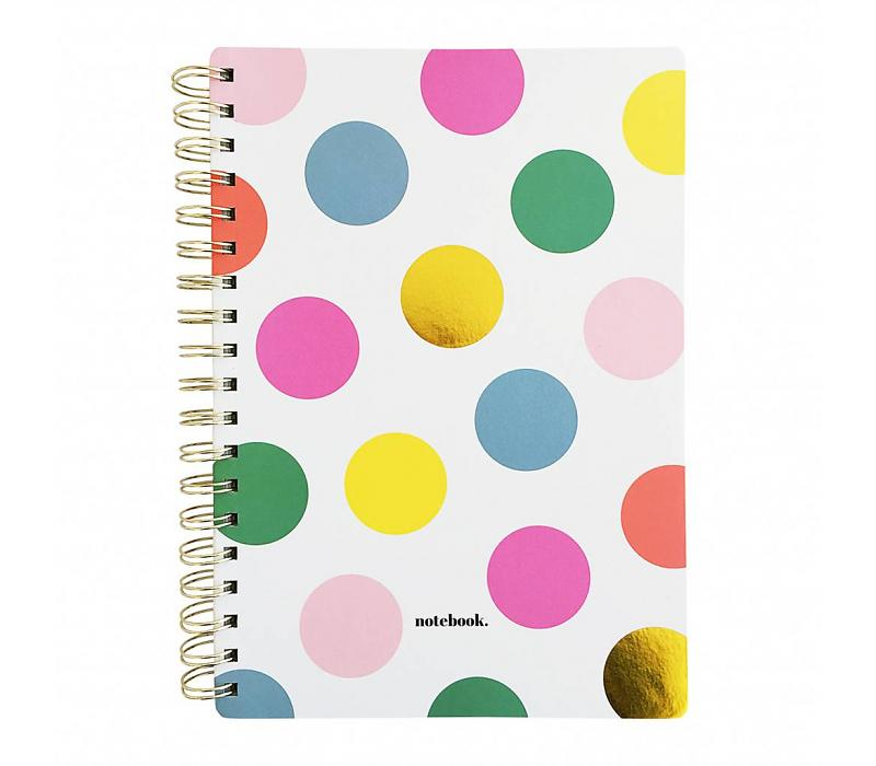 Happy Dots Notebook