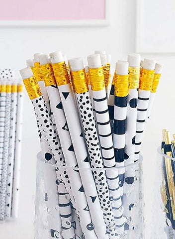 Black & White Pencil Set