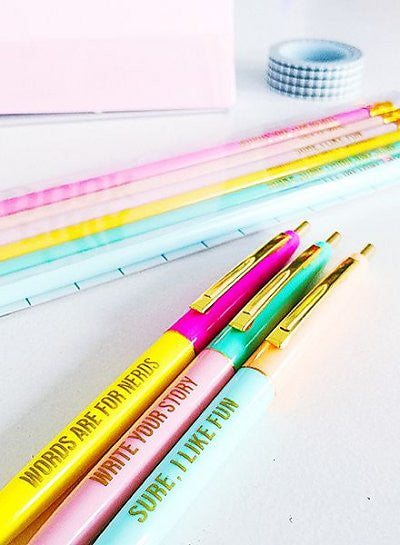 Studio Ballpoint Fun Pen Set