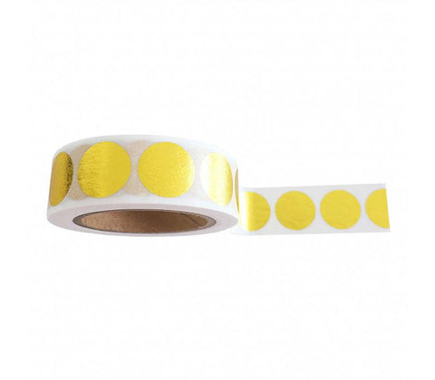 Golden Dots Washi Tape