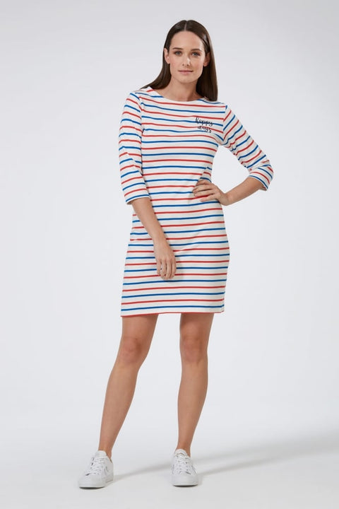 Happy Days French Stripe Dress