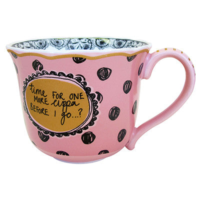 Biscuit Pink Teacup