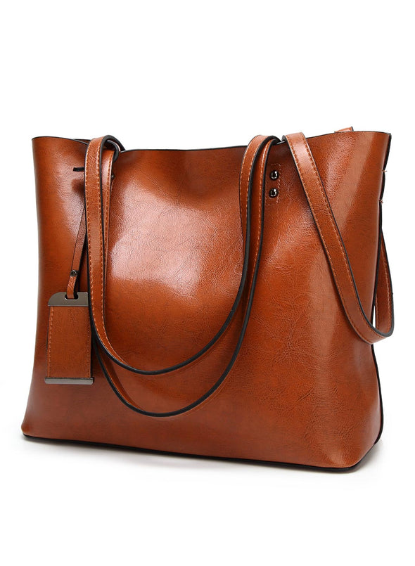 Brown Women's Bags Large Capacity Shoulder Bag LC003057-17