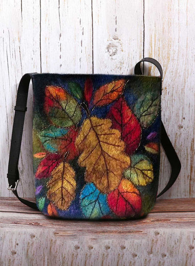 Multicolor Women's Messenger Bags Floral Casual Stylish Shoulder Messenger Bag LC003657-22