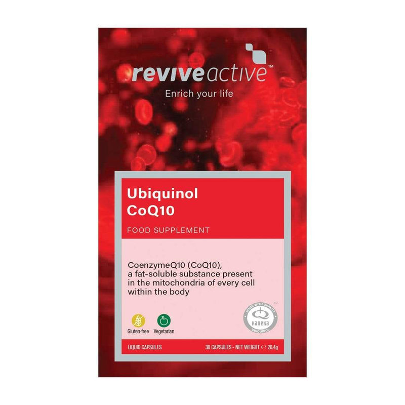 Ubiquinol Coenzyme Q10 1 Month Vitamins & Supplements Revive Active