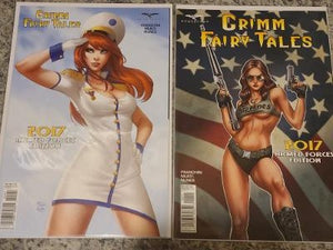 GRIMM FAIRY TALES 2017 ARMED FORCES EDITION SET NM